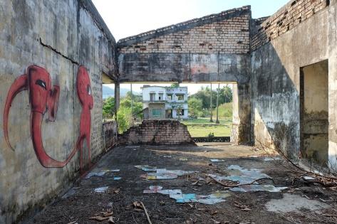 ruine coloniale Kep