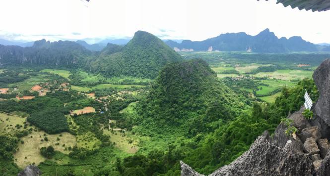 paysage de Vang vieng
